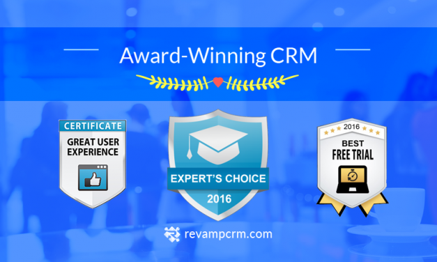 Revamp CRM Crowned #1 Experts Choice CRM for 2016