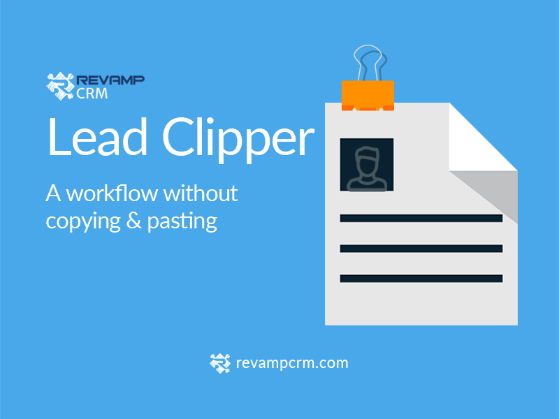 Revamp CRM Lead Clipper