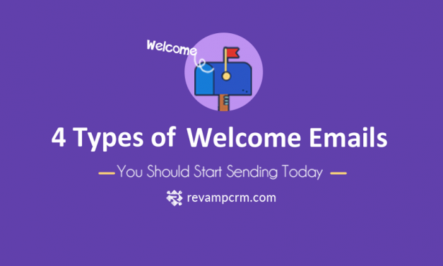 4 Types of Welcome Emails You Should Start Sending Today