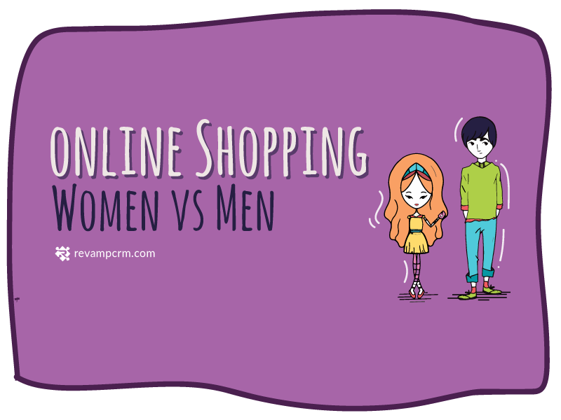 Men vs Women: Online Shopping Behavior and Buying Habits [infographic]