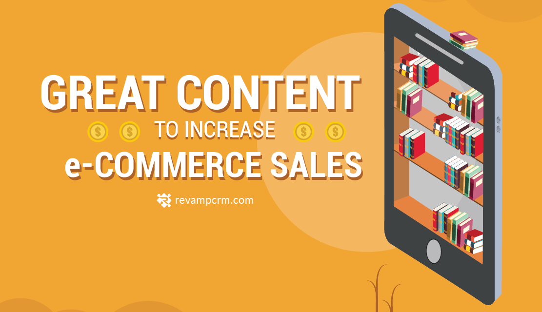 Great Content To Increase eCommerce Sales [ Infographic ]
