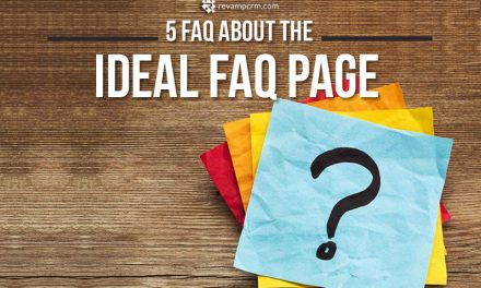 5 FAQ about the Ideal FAQ Page