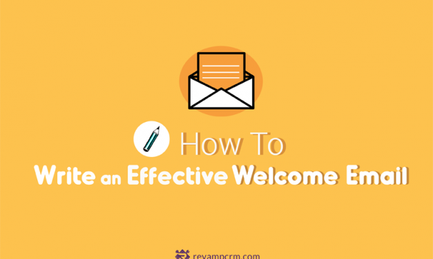 How to Write an Effective Welcome Email [ infographic ]
