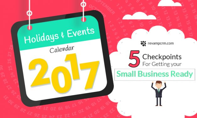 Calendar for holidays | 5 checkpoints to prep your small business for it