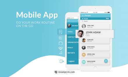 Revamp CRM Mobile App